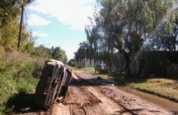 Se quedó encajado el equipo desobstructor del área de Servicios Municipales.
